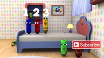 Five Little Monkeys - 3D Nursery Rhymes _ Color Crew 3-D Animation _ 3D Rhymes fo