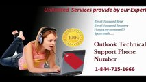 Microsoft Outlook Technical Support Phone Number 1-844-715-1666