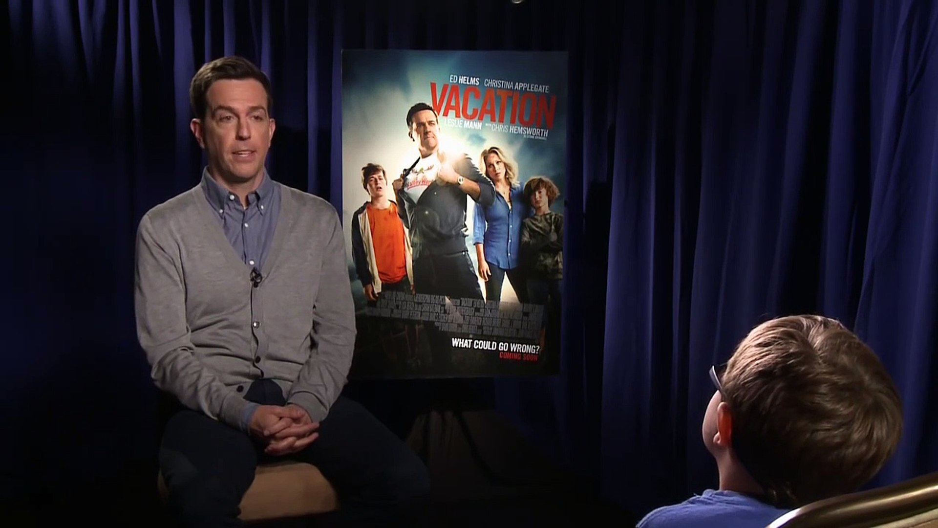 Vacation - Ed Helms Interview [HD]-wCTd_vR4PKg