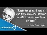 Legado de Gabriel García García Márquez / Gabriel García Márquez dies