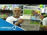 Periódicos brasileños se hacen eco del empate contra México; destacan atajadas de Memo Ochoa
