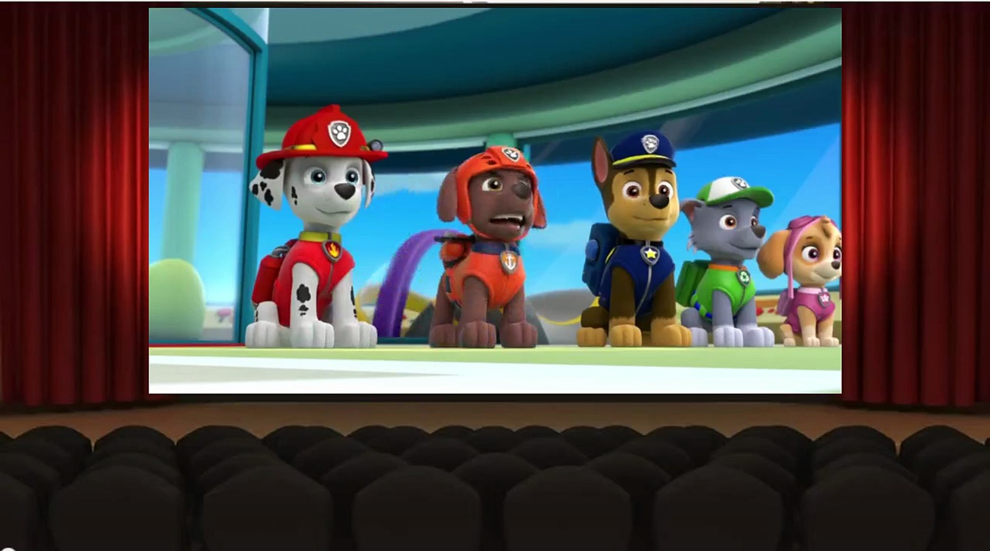PAW Patrol - S 1 E 18 - Pups Save a Super Pup - Pups Save Ryders Robot