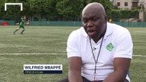 Wilfried Mbappé parle de Jonathan Ikoné