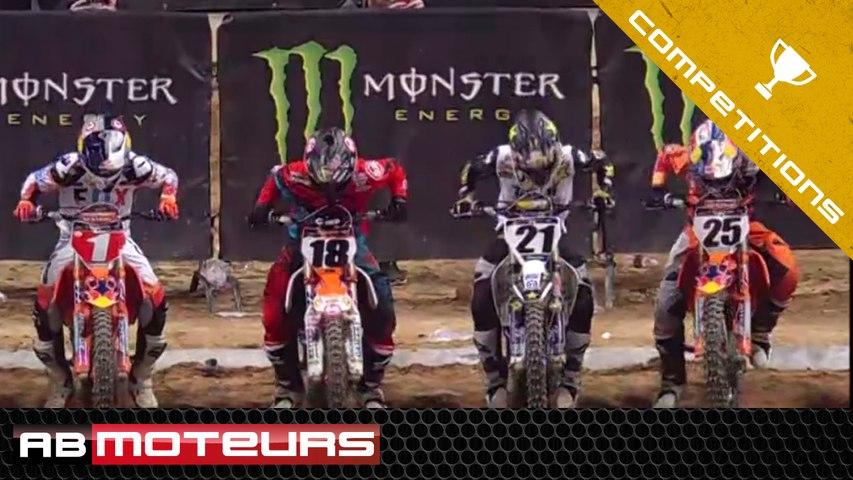 AMA Supercross 2017 ➡️03 Toute la compétition d'Anaheim II (intégrale)