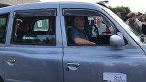 73e D-Day : les vétérans arrivent en taxis londoniens à la Batterie