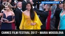 Cannes Film Festival 2017 - Maria Mogsolova Red Carpet| FashionTV
