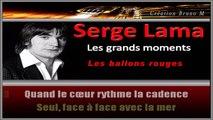 Serge Lama - Les ballons rouges KARAOKE / INSTRUMENTAL