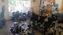 ALQUILER sillas de ruedas Madrid ((914980753)), alquiler Sillas de RUEDAS Baratas