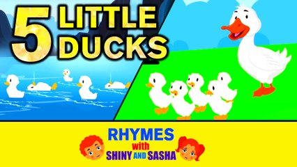 Five Little Ducks   Duck Song   Nursery Rhymes   Koo Koo Tv   Kids Songs