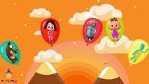 Koca Ayı Tosi Köstebekgiller Baba Bebe Niloya Balon Parmak Ailesi Şarkısını Söylüyorlar,Çizgi film izle 2017