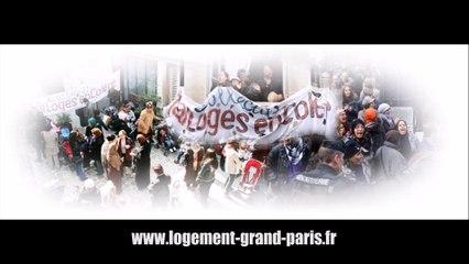 Grand Paris Amenagement occupé par les mal-logés