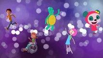 İbi ile Tosi Kare Takımı Aypa ve Harika İşler Takımı Parmak Ailesi Şarkısını Söylüyorlar