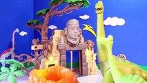 Dinosaurio buena juguetes vídeo con Hospital doc mcstuffins arlo queso-puffs-itis