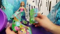 Oeuf gelé géant aller énorme Il laisser pâte à modeler jouet vidéos Disney elsa kinder surprise anna olaf