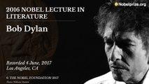 Le discours de Bob Dylan pour son prix Nobel de littérature
