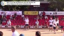 Premières parties de poules (première phase) du Super 16 masculin, 105ème édition des Tournois Boulistes de Pentecôte, Sport Boules, Lyon 2017