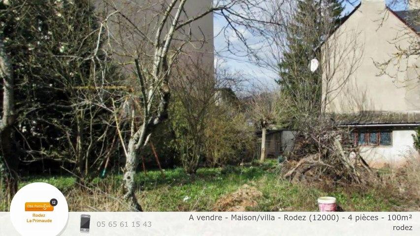 A vendre - Maison/villa - Rodez (12000) - 4 pièces - 100m²