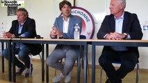 VIDEO. Châteauroux : Jean-Luc Vasseur, les premiers mots du nouvel entraîneur