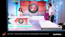 Mad Mag : Ayem maman, sa déclaration d'amour pour l'anniversaire de son fils (Vidéo)