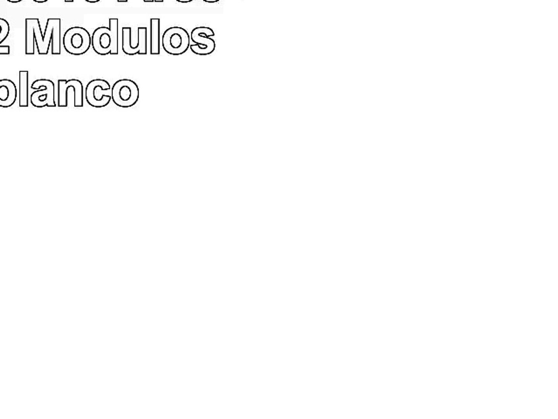 Color Blanco Kartell 496703 Componibili Contenedor de m/ódulos