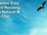 Rebecca Srl Set 3 Estante Flotantes Estantería Pared Rectangulo Madera Natural Marrón