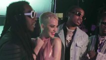 Katy Perry Shares Behind-The-Scenes Look at Making of 'Bon Appétit' Video   Billboard News