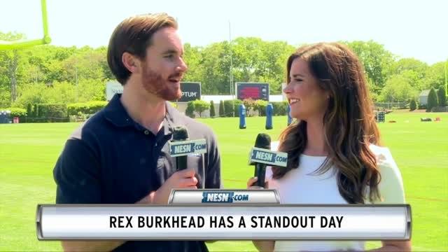 Dwayne Allen Struggles, Rex Burkhead Shines In Patriots Minicamp