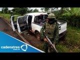 Suspenden clases tras enfrentamiento en Michoacán
