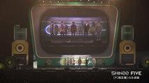 SHINee - 「FIVE」FC盤収録【「SHINee WORLD J OFFICIAL FA