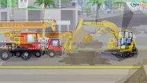 Tractor - Carros para niños - el Pequeño Camiones - Carritos infantiles - Videos para niños