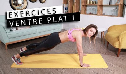Julie Ferrez - Exercices spécial ventre plat
