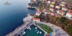 Zonguldak liman arkası hava görüntüleri