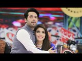 Fabiha Sherazi with Fahad Mustafa in jeeto pakistan photos collection 2017