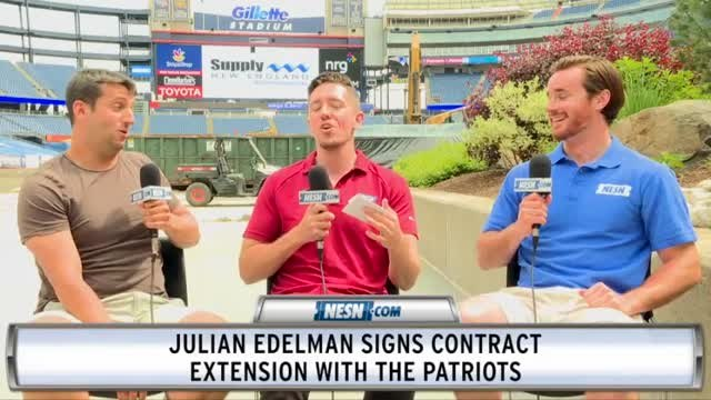 Report: Julian Edelman Signs Contract Extension With Patriots