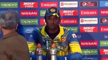 Virat Kohli and Angelo Mathews press conference after India vs Sri Lanka ICC champions trophy 2017