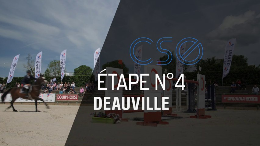 GRAND NATIONAL : LE MAG - CSO n°4 à Deauville