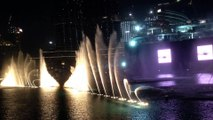 The Dubai Fountain 2017 / Dubai Mall / Burj Khalifa View / Downtown Dubai /Beautiful Arabic music