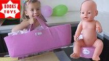 Беби Борн обзор сумка-кроватка для Беби Борна Baby Born
