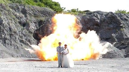 La photo de mariage la plus BADASS de l'année !