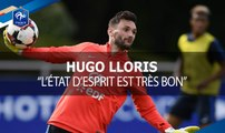Hugo Lloris avant Suède - France