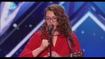 America's Got Talent : Une chanteuse sourde émeut aux larmes le jury (vidéo)