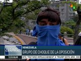 Venezuela: opositores siembran violencia en zona de Altamira