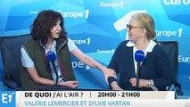 Quand Valérie Lemercier rend une visite surprise à Sylvie Vartan à Europe 1