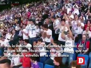 Futbolistas que no pudieron consagrarse en el Real Madrid