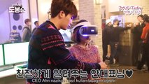 SWDBS Sahne arkası- Park HyungSik&ParkBoYoung VR gözlük denemesi 박형식 [Türkçe Altyazılı/Tr Sub]
