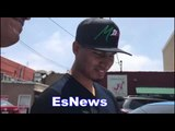 Mikey Garcia Gets New Shirt From Rainbow - EsNews Boxing