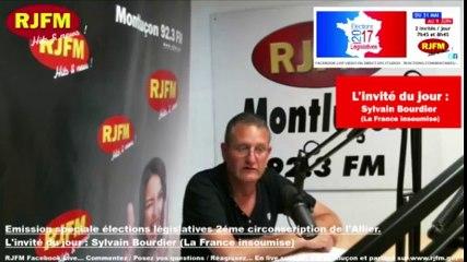 LEGISLATIVES 2017 - Sylvain Bourdier (La France insoumise)