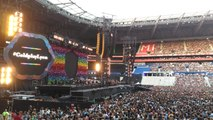 Coldplay en concert à Lyon (2017)