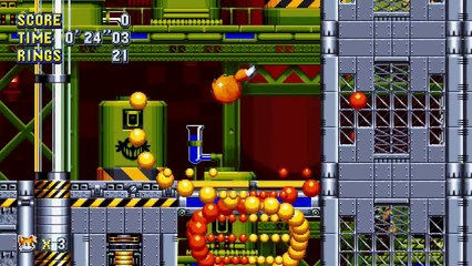 Sonic Mania - Chemical Plant Zone Act 2 Gameplay de Sonic Mania