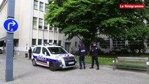 Brest. Un corps retrouvé sans vie au pied de la mairie